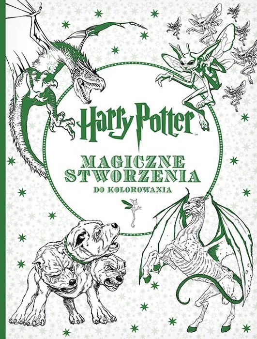 Harry Potter Magiczne Stworzenia Do Kolorowania 2016